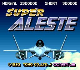 Super Aleste (J)