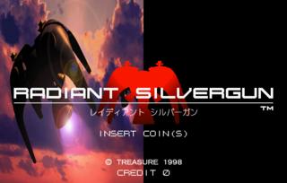 radiant silvergun title