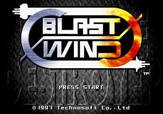Blast Wind Title